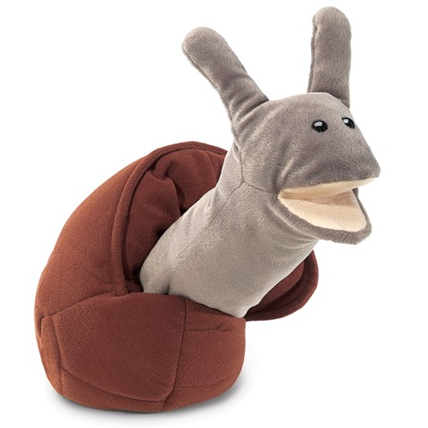 Snail Hand Puppet  |  Folkmanis