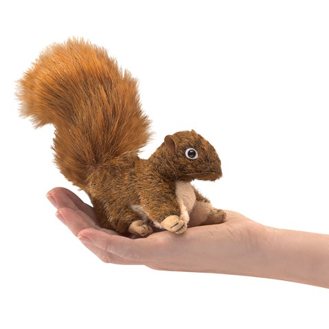 Mini Red Squirrel  |  Folkmanis