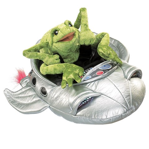 Frog in Spaceship  |  Folkmanis