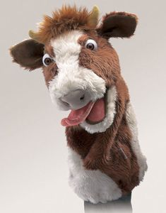 Cow Stage Puppet  |  Folkmanis
