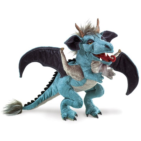 Sky Dragon Hand Puppet  |  Folkmanis