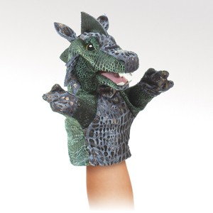 Little Dragon Puppet  |  Folkmanis