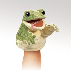 Little Frog Puppet  |  Folkmanis