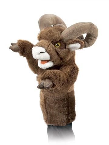 Bighorn Sheep Stage puppet  |  Folkmanis