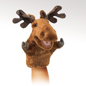 Little Moose Puppet  |  Folkmanis