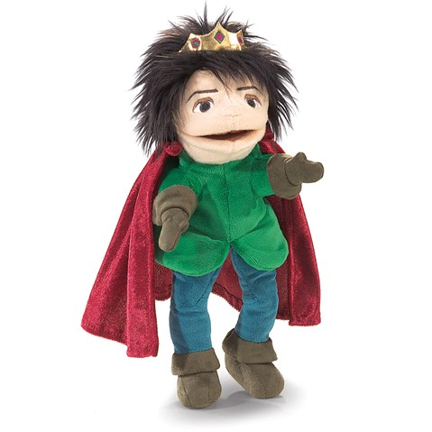 Royal Prince Character Puppet  |  Folkmanis