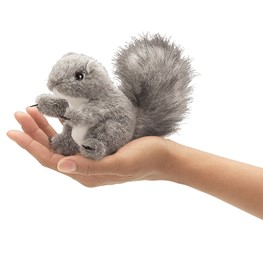 Mini Gray Squirrel