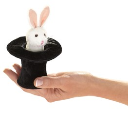 Mini Rabbit in Hat